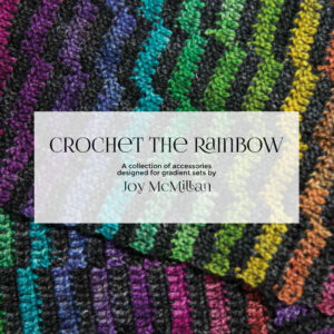 Crochet The Rainbow pattern booklet cover