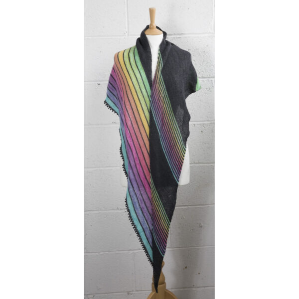 beyond the edge shawl mini skein version