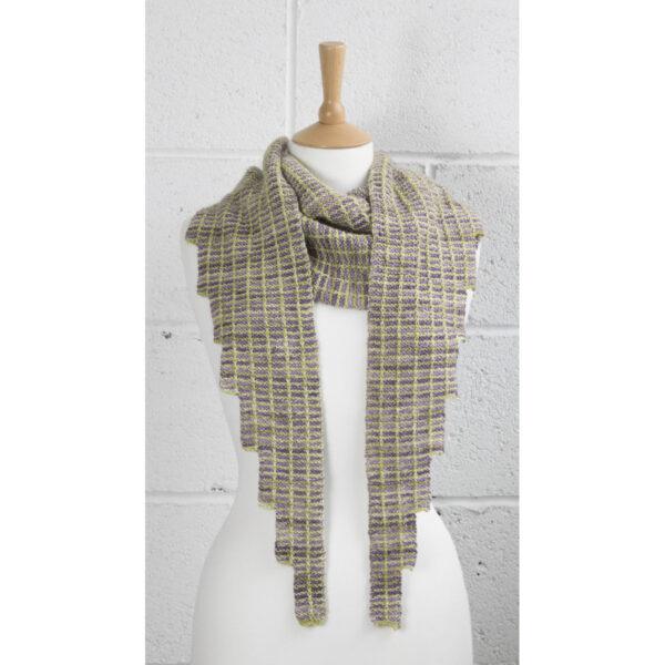 simple steps shawl