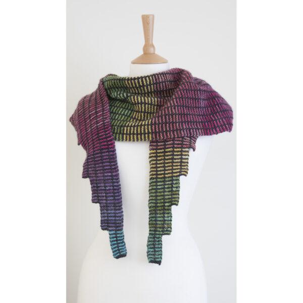 simple steps shawl mini skein version