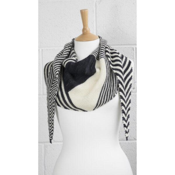 square off shawl