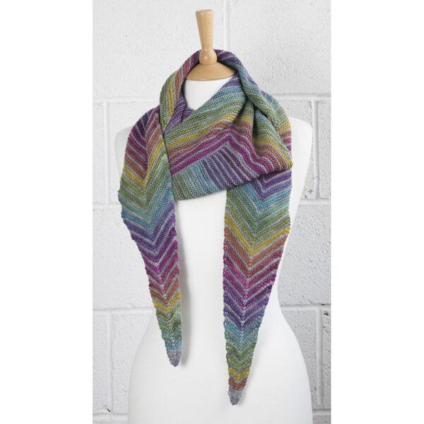 square off shawl mini skein version