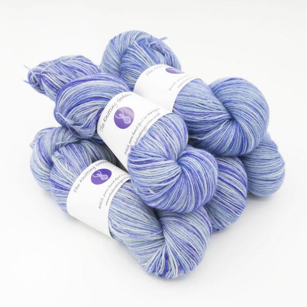 Hyacinth colourway 4ply BFL skein of yarn