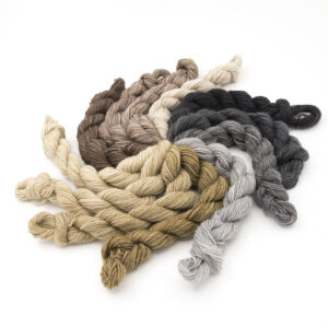 Stone Britsock mini skeins of yarn