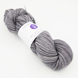 britsock hand dyed yarn bay elehant grey