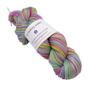 ultimate rainbow skein of sock yarn