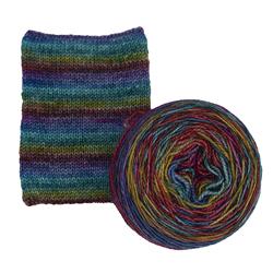 Hand Dyed Self Striping Sock Yarn is Back