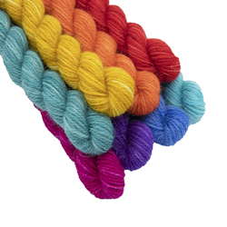 Britsock Rainbow Pride Mini Skeins Are Back on Wednesday