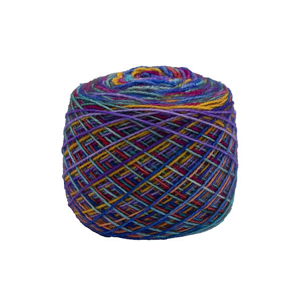 ultimate rainbow striping sock yarn british bfl nylon indie dyed in yorkshire