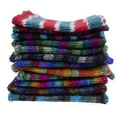 New Self Striping Sock Yarn